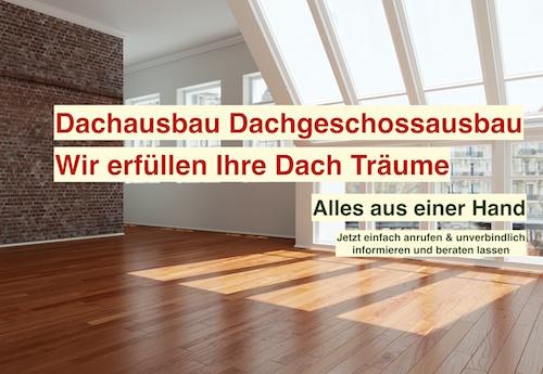 Dachgeschossausbau Berlin - Dachausbau Dachbodenausbau
